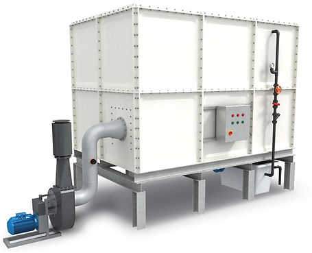 Airashell Biohybrid Filter Onsite Wastewater odor control solutions