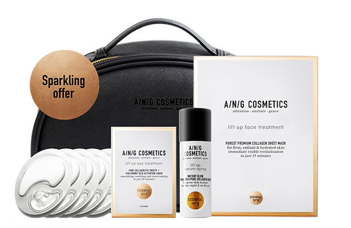 Sparkling Collagen Collection Bag | A/N/G Cosmetics