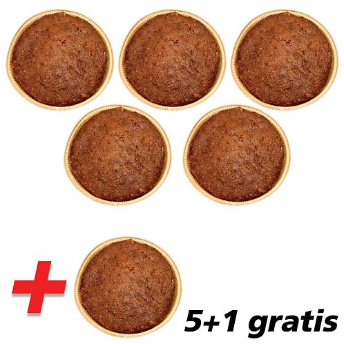 5 + 1 gratis Kaneelkoeken
