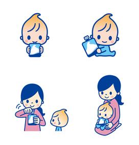 ロッテ クーリッシュ 幼児用パッケージイラスト