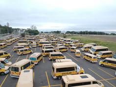 09/06/20 Carreata do Transporte Escolar para entrega de ofícios ao governo Municipal e Estadual em busca de socorro !