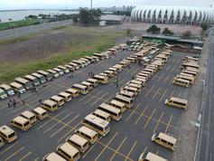 355 Veículos de Transporte Escolar presentes !