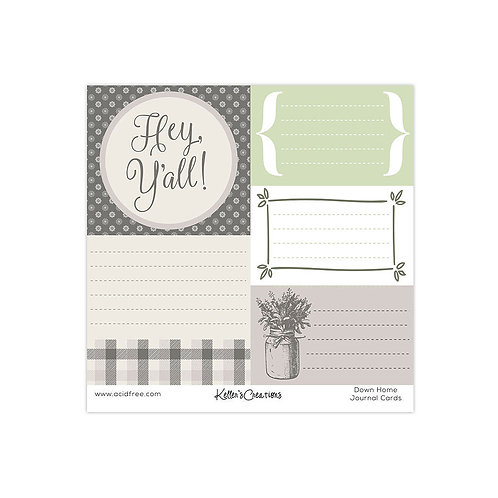Down Home Journal Cards