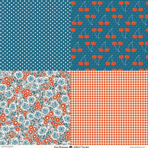 Cherries Jubilee 12x12 Print Paper