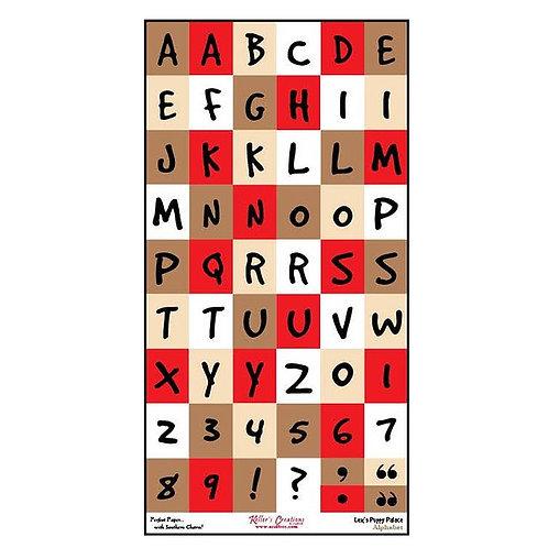 Lex's Puppy Palace Alphabet