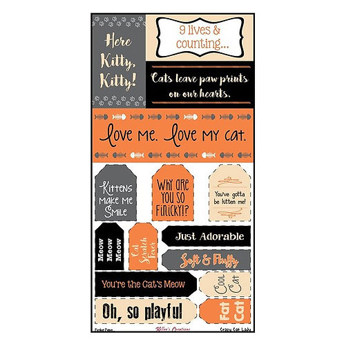 Crazy Cat Lady Tags & Titles