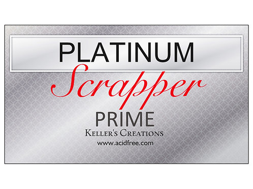 Platinum PRIME Scrapper Card