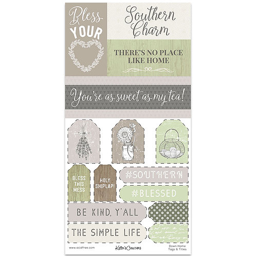 Down Home Tags & Titles