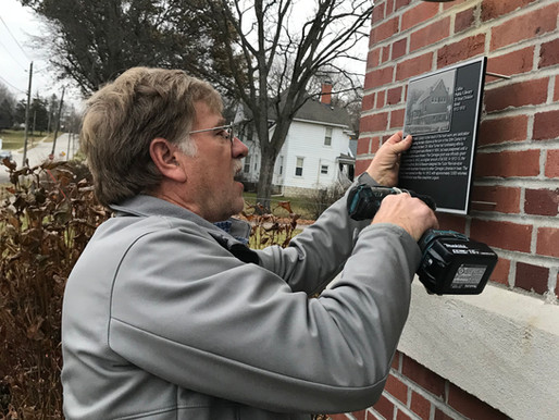 New History Plaques in Downtown Colfax!