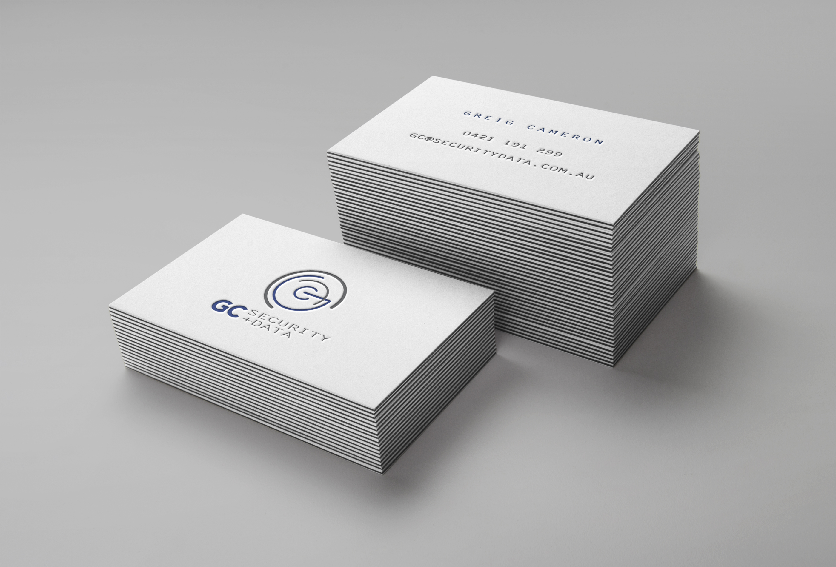GC Security & Data | Business Cards