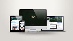 PGA | Digital Mockup
