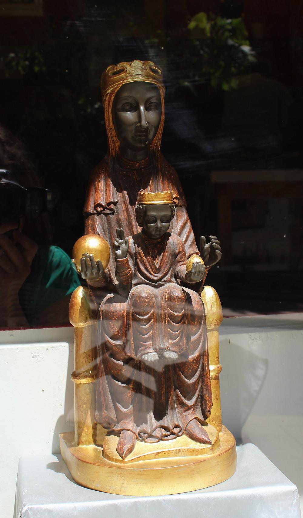 The Black Maddona The Madonna of Montserrat