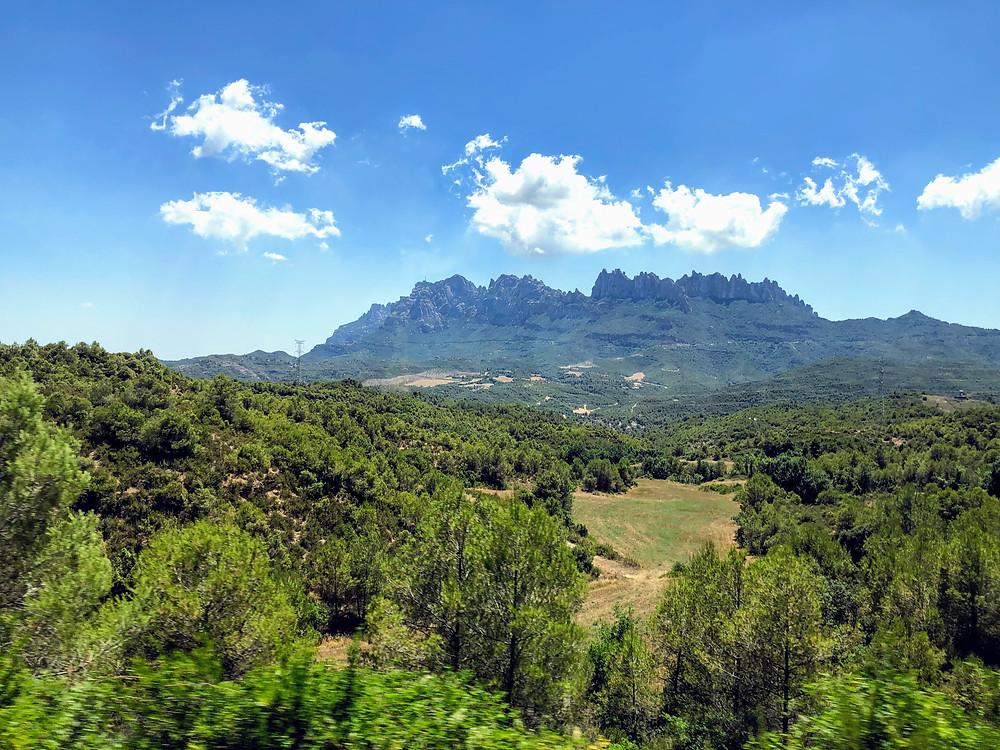 Montserrat neat Barcelona, Spain