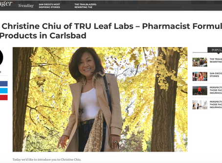 Check out our article on SDVoyager to learn more about our founder, Christine Chiu!