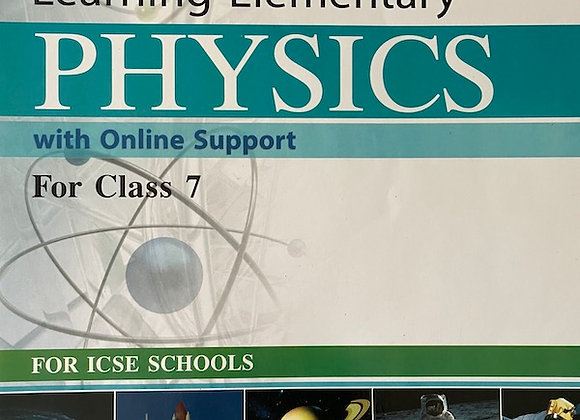 Grade 7 ICSE Physics Textbook