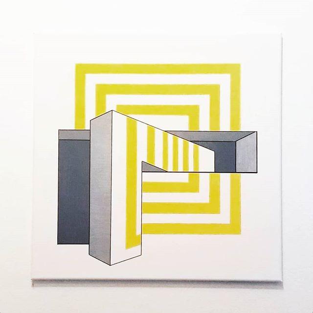 _Shrink_ - Acrylic on canvas, 24_ × 24_