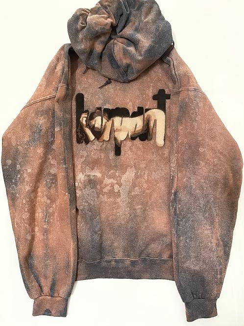 Acid Washed Signature Barenaked Hoodie, 1/1