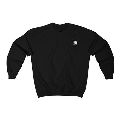 Double Logo Crewneck Sweatshirt