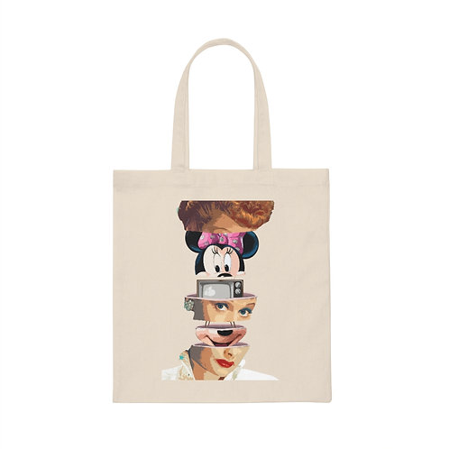 """""""Who Loves Lucy?"""" Canvas Tote Bag"""