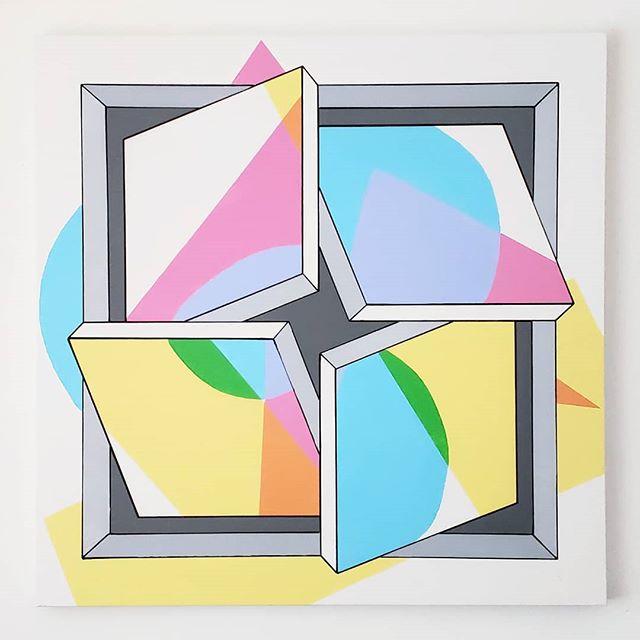 _Playhouse_ - Acrylic on canvas, 36_ × 3