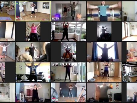 Burn Nation; The online dance and fitness platform