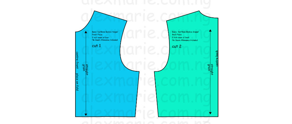 Sewing 208 - Pattern Drafting: How to Eliminate the darts from the Basic Bodice