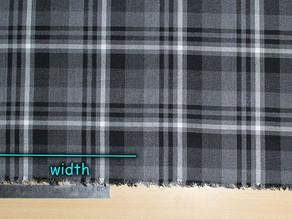 Sewing 108 - Fabric on Grain (Blocking Fabric)