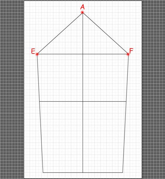How to draft a basic sleeve 8