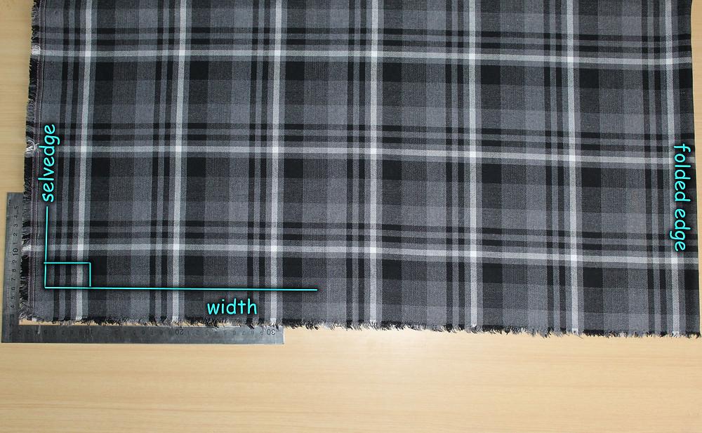 blocked fabric