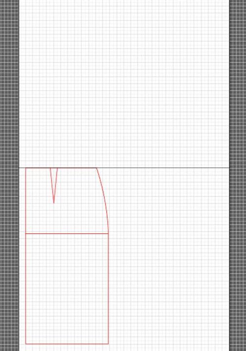 basic dress torso sloper pattern 3