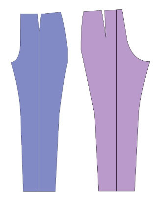 Basic Pants pattern 1