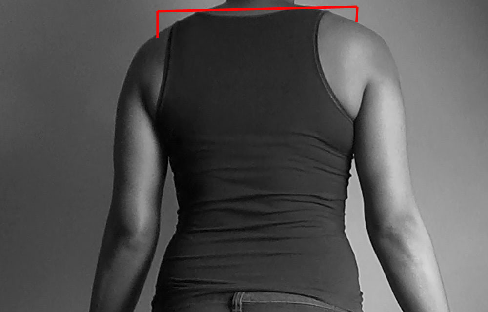 full shoulder measurement