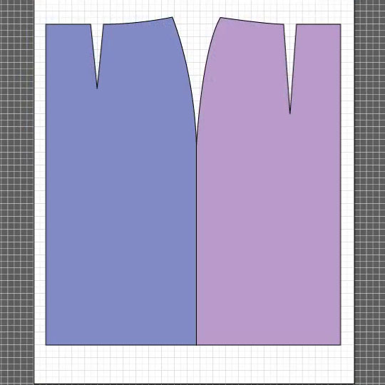 how to draft a basic skirt Flat