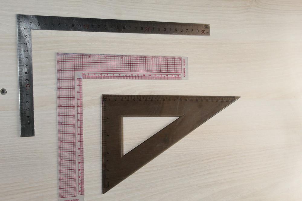 set square and L square