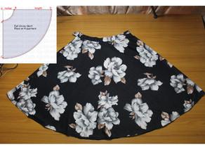 Sewing Pattern #3 - All Circle Skirt Variations