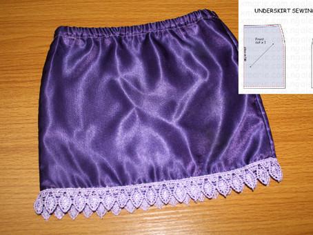 Sewing Pattern #2 - A Halfslip (Underskirt)