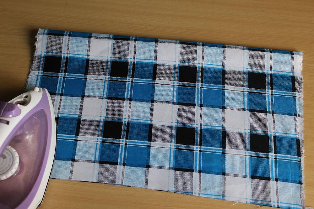 pressing ironing fabric