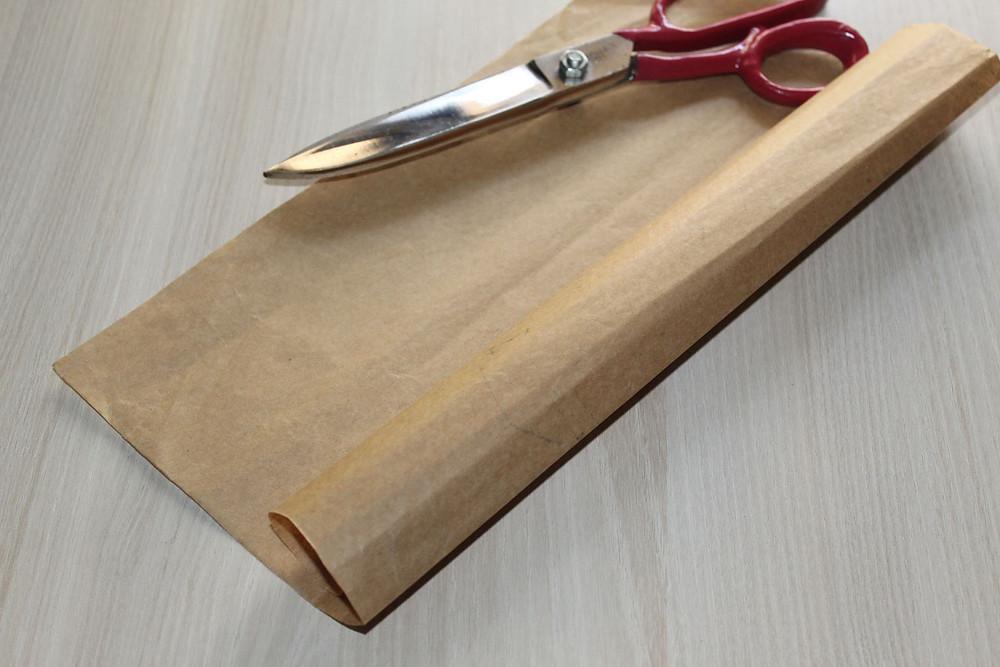 brown pattern drafting paper