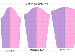 Sewing 304 - Pattern Drafting: Adjusting the Height of the Sleeve Cap