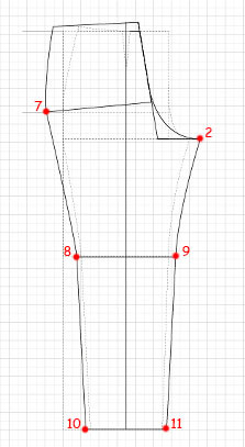 Basic Pants pattern 12