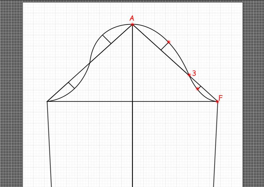 How to draft a basic sleeve 12