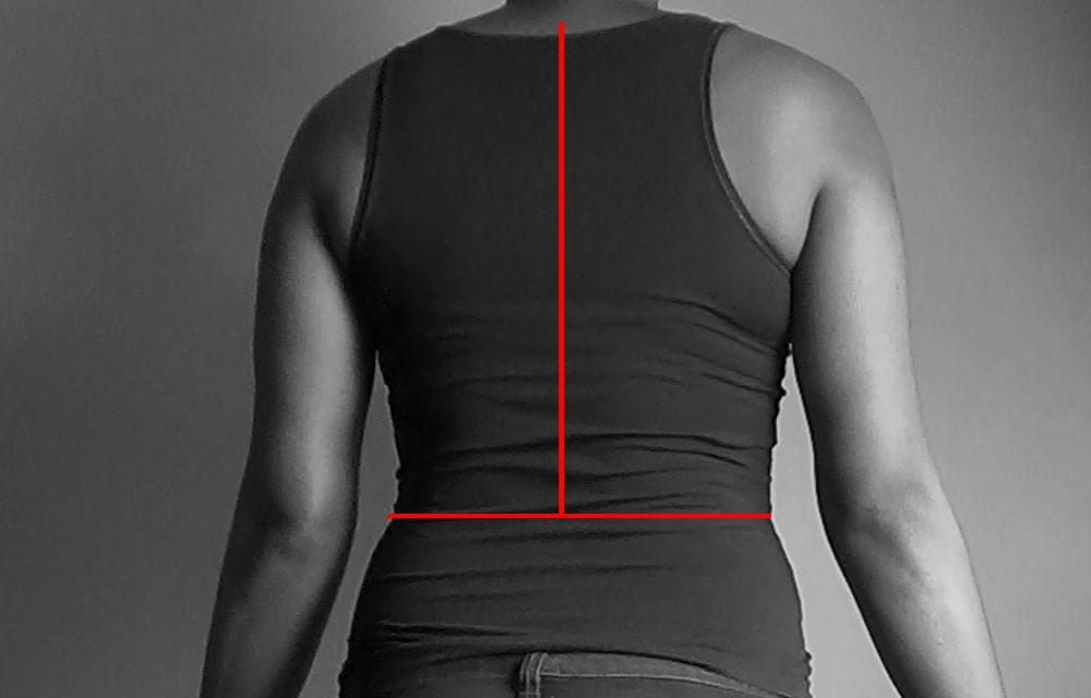 centre back measurement