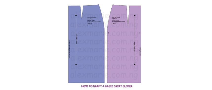 Sewing 203 - Pattern Drafting: Basic Skirt