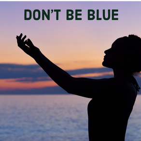 Don't be blue, eat for health & happiness