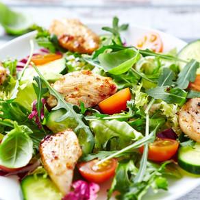 Sweet Chilli Chicken & Tortilla Salad