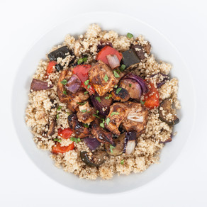 Warming & spicy Moroccan Couscous