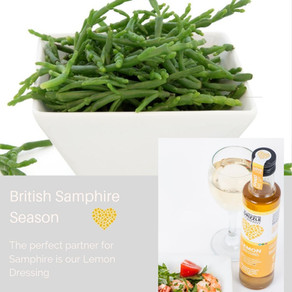 Samphire & Lemon, perfect partners