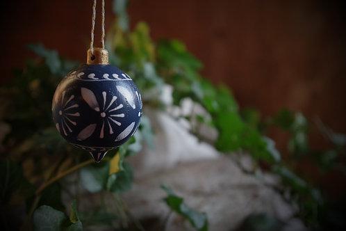 Boule en bois, petit modèle - Ciel des Balkans