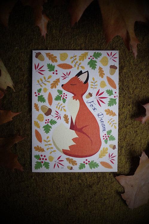 Carte - Fox Dream