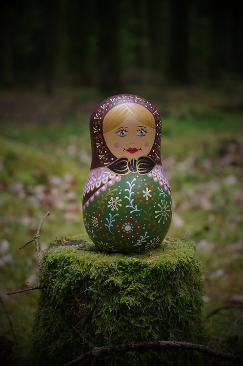 Matriochka en bois - Olga